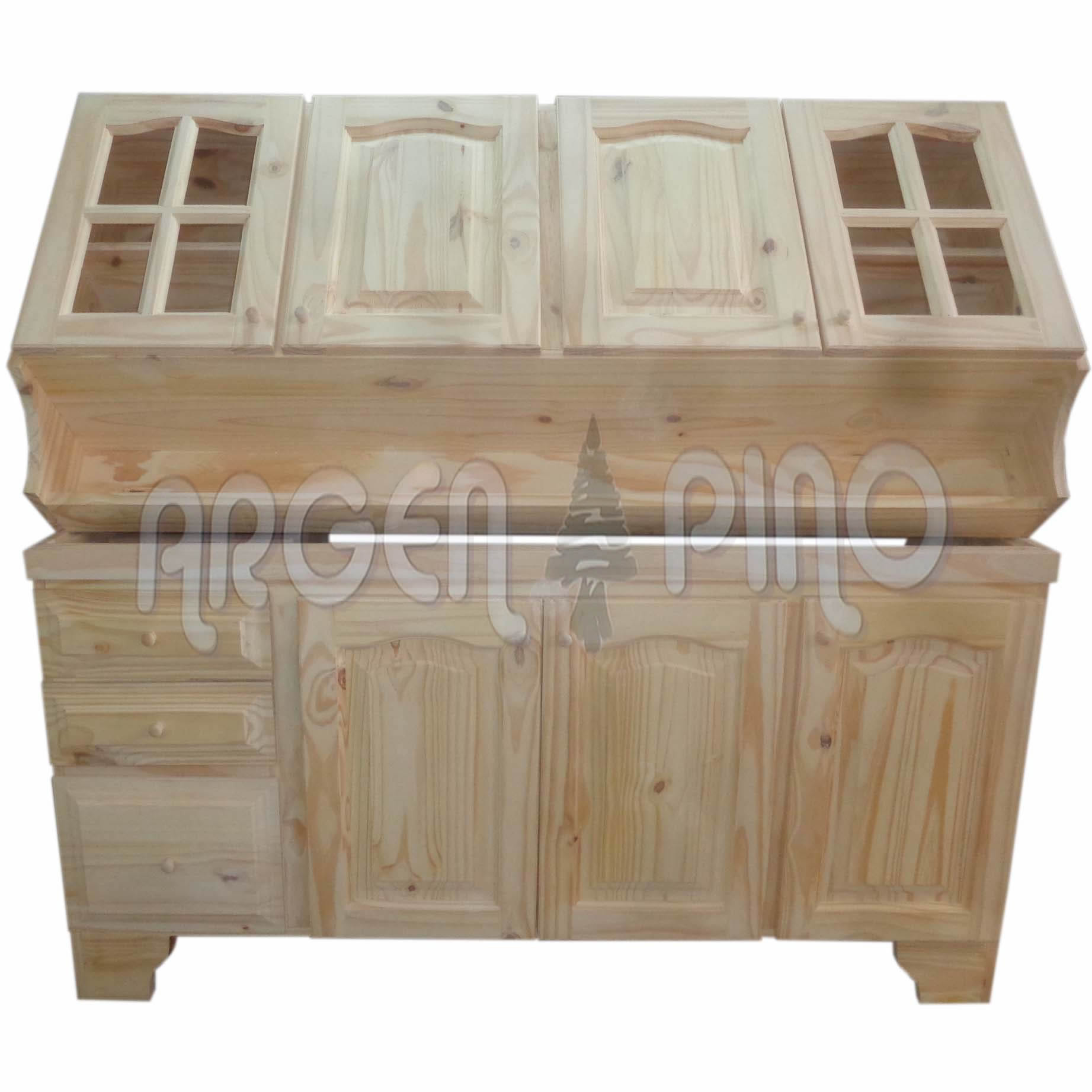 Muebles de pino macizo modernos muebles televisin madera - Muebles de pino rusticos ...